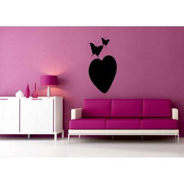 Beautifull Heart Decorative Wall Sticker-WS-08-222