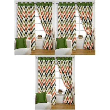 Storyathome Set of 6 Window curtain-5 feet-WTZ_3-1004
