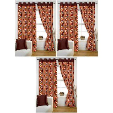 Storyathome Set of 6 Window curtain-5 feet-WTZ_3-1007