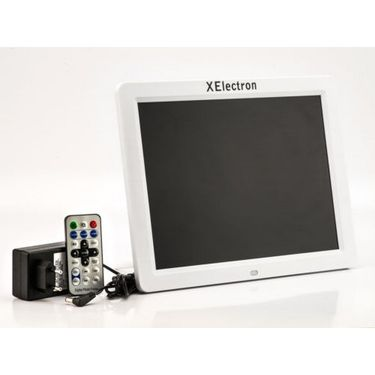XElectron 1200XE 12 inch Digital Photo Frame with Remote - Black