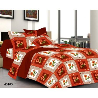 Valtellina Combo of 3 Double Bed Sheets with 6 Pillow Covers-YTD_C2_37_41_55