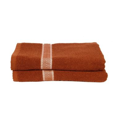 Banarsi Das Set of 2 100% Cotton Bath Towels-bdt010