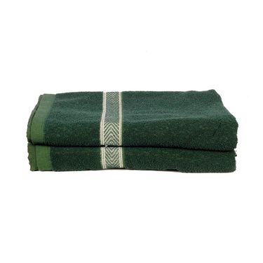 Banarsi Das Set of 2 100% Cotton Bath Towels-bdt011