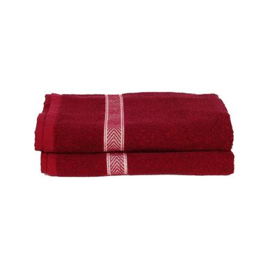 Banarsi Das Set of 2 100% Cotton Bath Towels-bdt015
