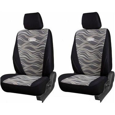 Branded Printed Car Seat Cover for Toyota Innova - Black