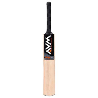AVM Sting Plus Kashmir Willow Cricket Bat (Short Handle, 1025 g)
