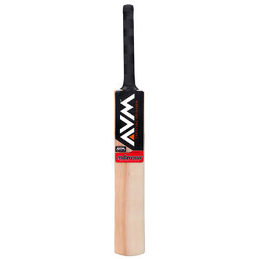 AVM Endaveour Kashmir Willow Cricket Bat (Short Handle, 1025 g)