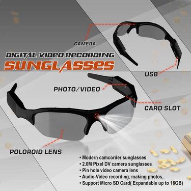 Digital Video Recording Sunglasses