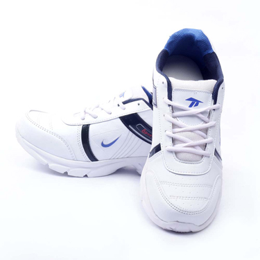 Foot n Style Synthetic  leather Sports Shoes  FS436 - White