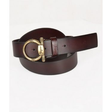 Branded Casual Leather Belt For Men_frg_bw - Brown