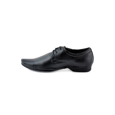 Foot n Style Cordovan Leather Formal Shoes FS 315 -Black