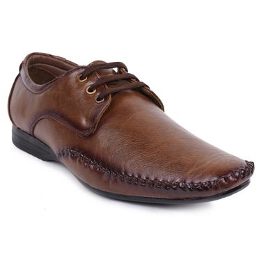 Foot n Style Brown Formal Shoes -Fs3180