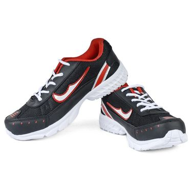 Foot N Style Synthetic Sports Shoes FS496 -Multicolor
