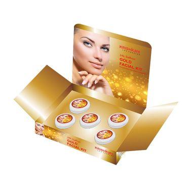 Combo of Saffron Gold Facial Kit + Face Massager