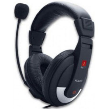 iBall Rocky Headphone - Black