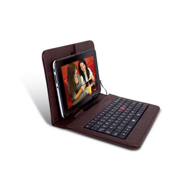 iBall TabKey K6 Tablet Keyboard with Case - Brown