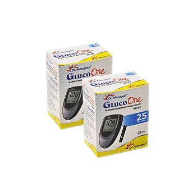 Dr. Morepen Gluco One BG 02 Single Code Test Strips-50/pack