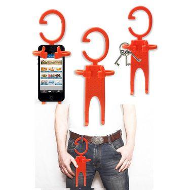 Pack of 3 Kawachi Multi-purpose flexible cellphone holder