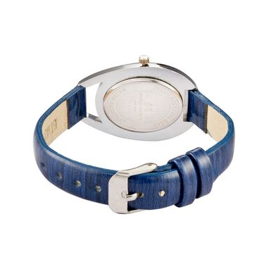 Mango People Analog Oval Dial Watch For Women_mp003bl01 - Blue
