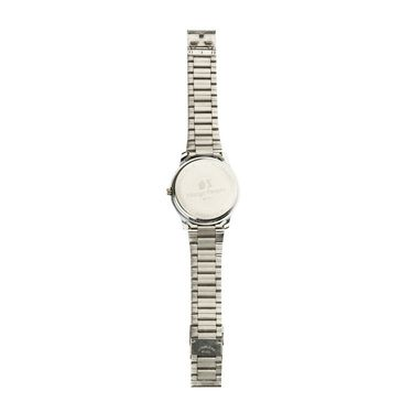 Mango People Analog Round Dial Watch For Men_mp017 - Silver