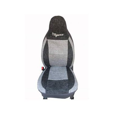 Car Seat Cover Tata Manza-Black & Grey - CAR_11012
