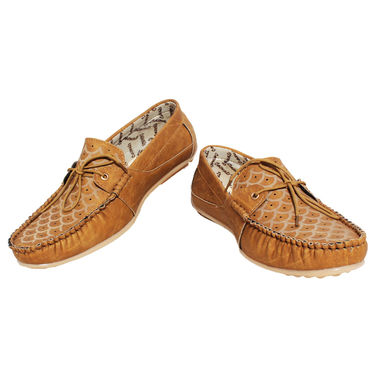 Detak Pvc Loafers Shoes -Rocky17