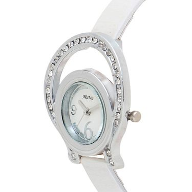 Adine Analog Wrist Watch For Women_Ad1238w - White