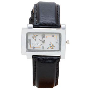 Adine Analog Wrist Watch For Women_Ad1241bks - Silver