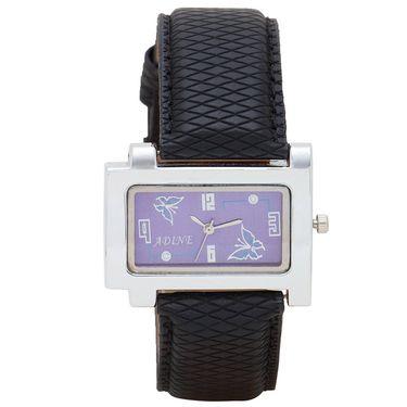 Adine Analog Wrist Watch For Women_Ad1241bkp - Purple