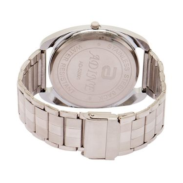 Adine Analog Wrist Watch For Men_Ad52001s - Silver