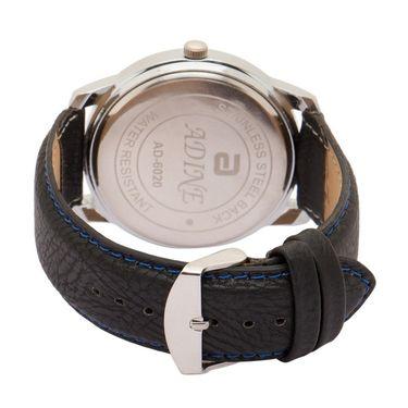 Adine Analog Wrist Watch For Men_Ad6020bk - Black