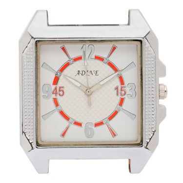 Adine Analog Wrist Watch For Men_Ad6023w - White