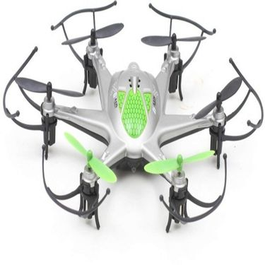 6 Axis X12 RC Hexacopter With LED Lights & Headless Mode - Green