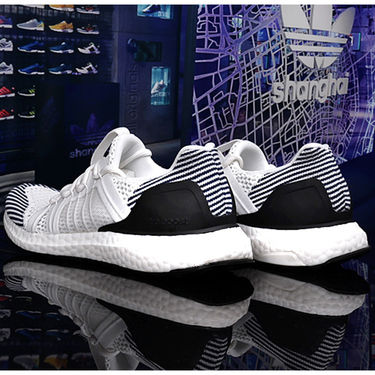 Adidas Ultra Boost Mesh White & Black Sport Shoes os02