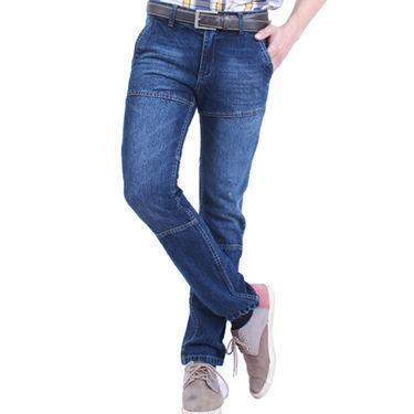 Uber Urban Cotton Jeans_ub21 - Dark Blue