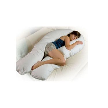 Silky World U-Shape Full Body Pillow (Cream Shade)