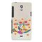 Snooky Digital Print Hard Back Case Cover For Sony Xperia T Lt30p Td12363