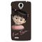 Snooky Digital Print Hard Back Case Cover For Lenovo S820 Td12832