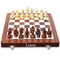 Liana Premium Magnetic 10 Inch Rectangle Chess Board - Brown