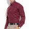 Fizzaro Plain Cotton Shirt _Plsrtc101 - Marron