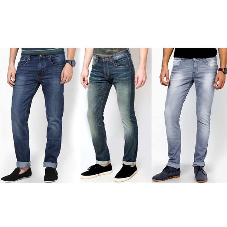 Buy Pack of 3 Stylish Branded Jeans For Men - Raymond Cotton ...