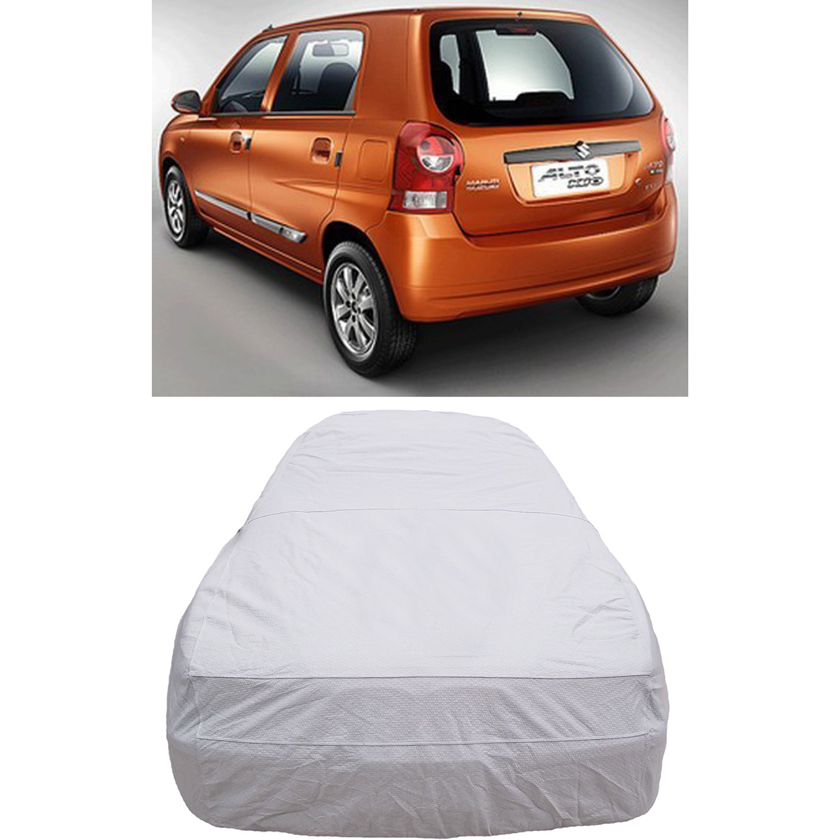 Buy digitru car body cover for maruti suzuki alto k10 silver online at best price in india on