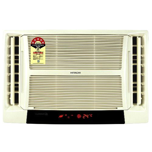 Hitachi summer tm rat513esd window air conditioner 1 1 for 1 5 ton window ac watts
