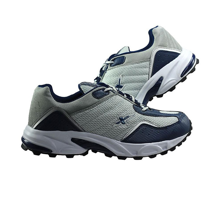 buy sparx synthetic leather sports shoes navy blue