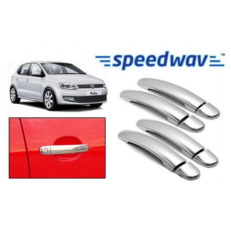 Buy Volkswagen Polo Chrome Plated Car Door Handle Covers Set Of 4 Online At B