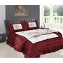 Banarsi Das Wedding Set of 1 Double Bedsheet, 1 Double Bed Quilt and 2 Pillow Covers- bdd-3