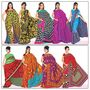 9 Rich Look Designer Collection Georgette Sarees