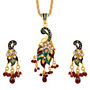 Sukkhi Creative Fashion Gold Plated Pendant Set