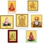 Combo of Lord Temples For Car- Ganesha, Hanuman Ji, Shiva, Bala Ji, Durga, Sai Baba, Guru Nanak