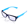 Aoito Full Rim Spectacles Frame - Black & Blue_AO-20BB-101